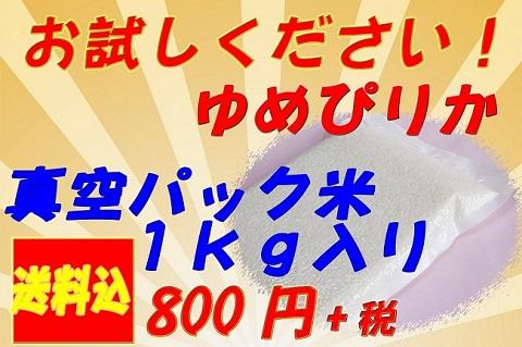 ゆめぴりか真空パック480